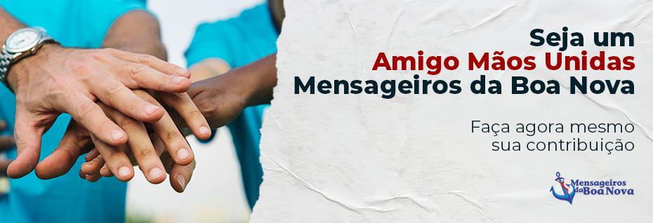 Comunidade Mensageiros da Boa Nova - Faça sua doação e contribua com a missão evangelizadora!
