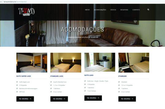 Website Terraço Hotel