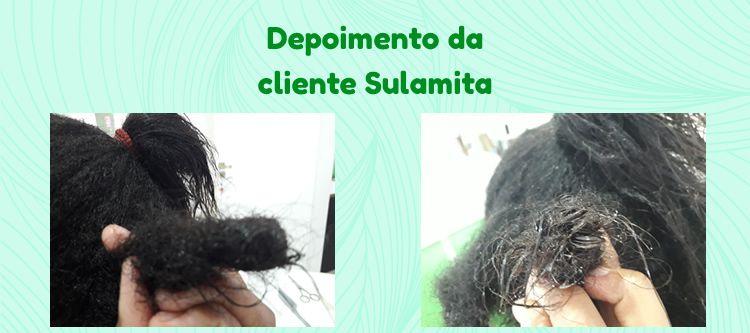 Depoimento da cliente Sulamita