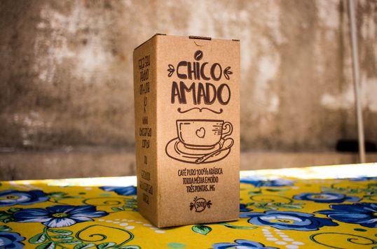 Caixinha Chico Amado - Blend - 500g - Torra Média
