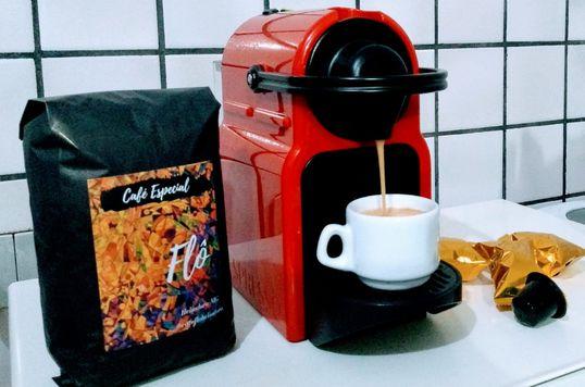Café Flô - Cápsulas compatíveis com máquina NESPRESSO