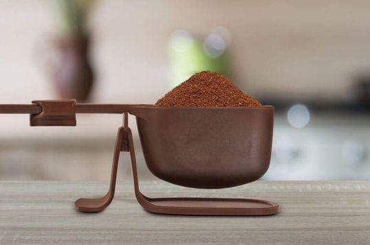 A balança Pressca dosadora do seu Café
