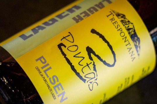 Lager Pilsen, refrescante e aroma típico do puro malte