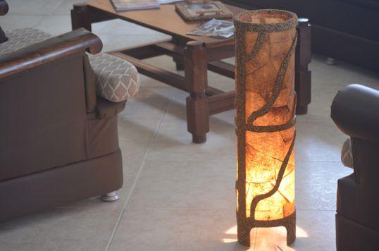 Luminária de cano - Artcafé