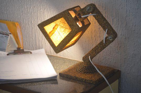 Luminária catraca - Artcafé