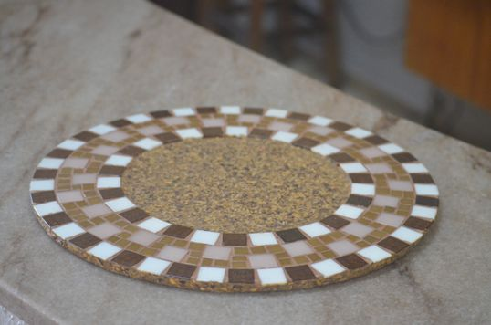 Solsplast em mosaico - Artcafé