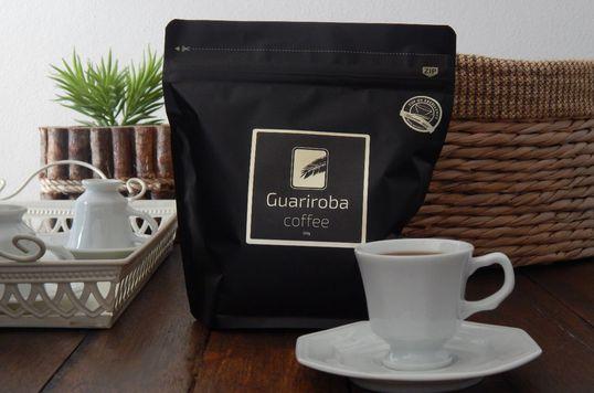 Café Guariroba Bourbon Amarelo Natural - Torrado em Grãos