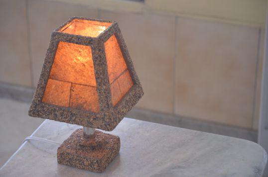 Luminária cromada - Artcafé