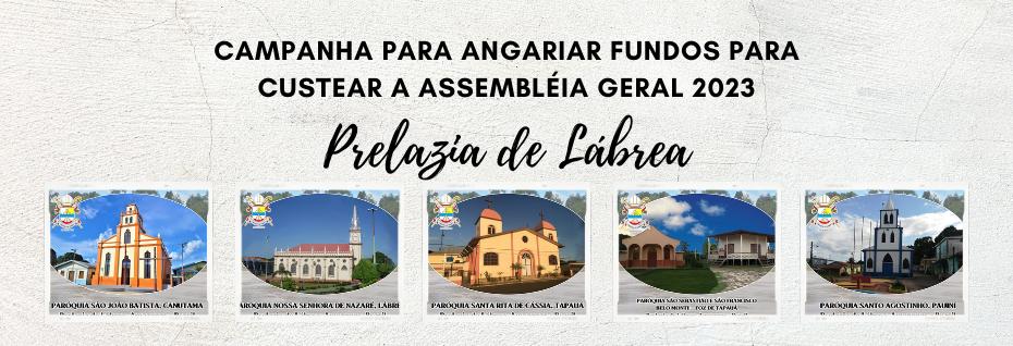 Ajude-nos a custear a Assembleia Geral 2023