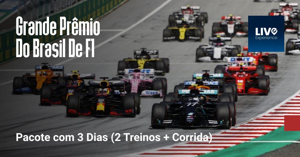 Grande Prêmio De Formula 1 São Paulo (Pacote com 3 dias (2 Treinos + Corrida))